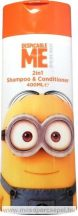 Minions Hair sampon és hajkondicionáló 2in1 400 ml