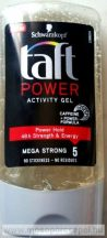 "Taft hajzselé Power Activity Mega Strong ,,5"" 150 ml"