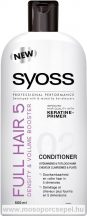 Syoss  Full Hair 5 Hajbalzsam hajra 500 ml