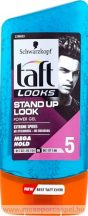 Taft Looks Power Gel Stand Up Look Mega Hold  hajzselé  150ml