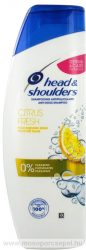 Head & Shoulders Citrus Fresh korpásodás elleni sampon zsíros hajra 400 ml