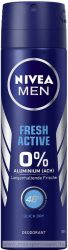 NIVEA Men Fresh Active Deo Spray 150 ml.