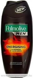 Palmolive for Men Energising 2 in 1 Tusfürdő és Hajsampon 250ml